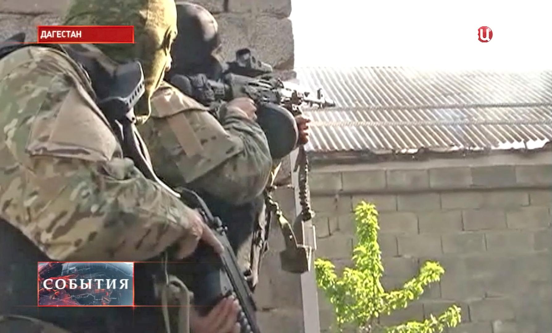 Группа боевиков в Дагестане