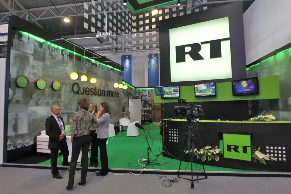 Студия телеканала Russia Today