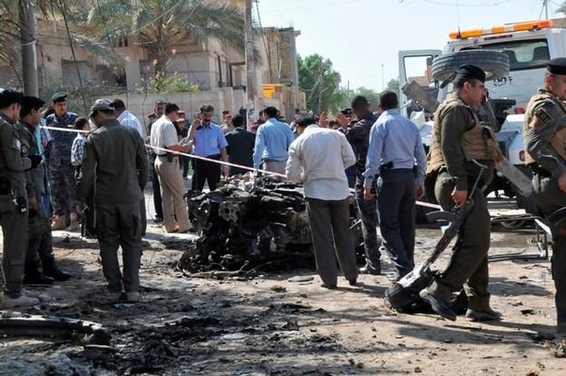 Полиция в Багдаде