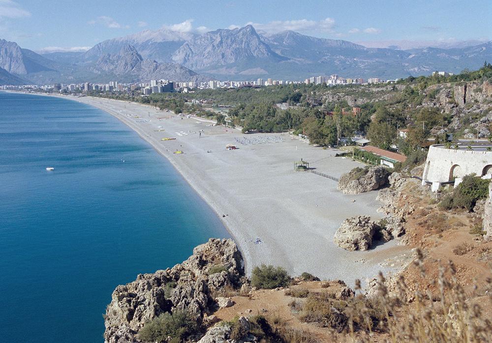 Пляж курорта Анталья