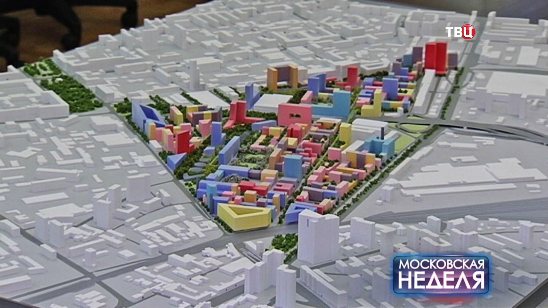 """Проект застройки промзоны """"Серп и молот"""""""