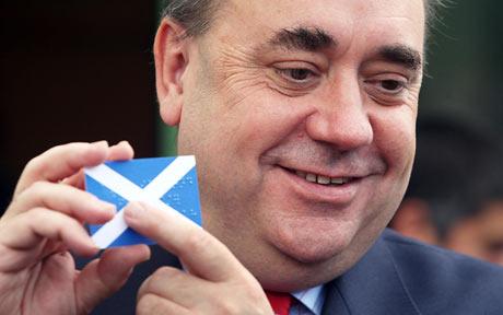 Первый министр регионального правительства Шотландии Алекс Салмонд