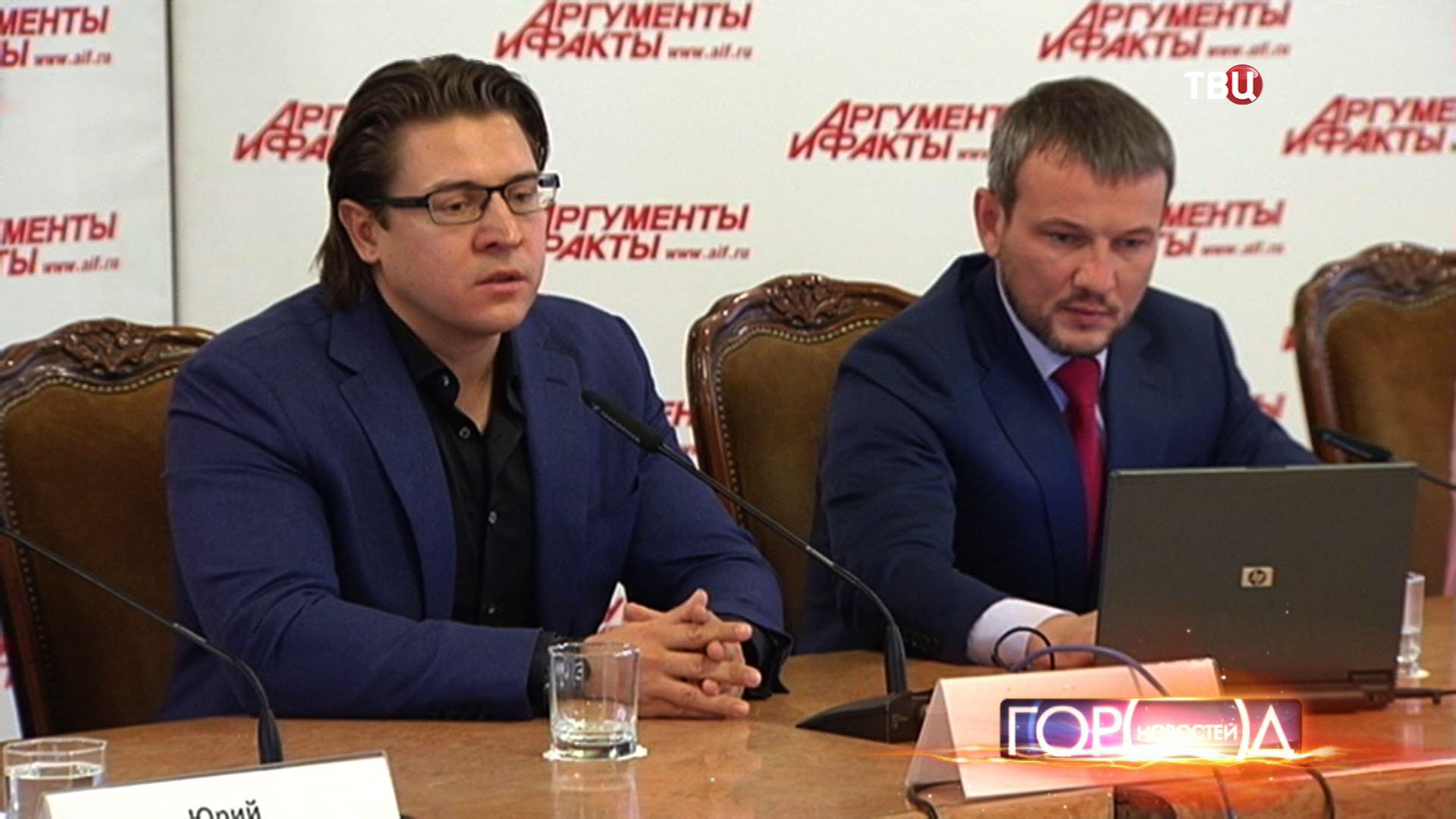 Адвокат Сергея Полонского Александр Карабанов и его помощник