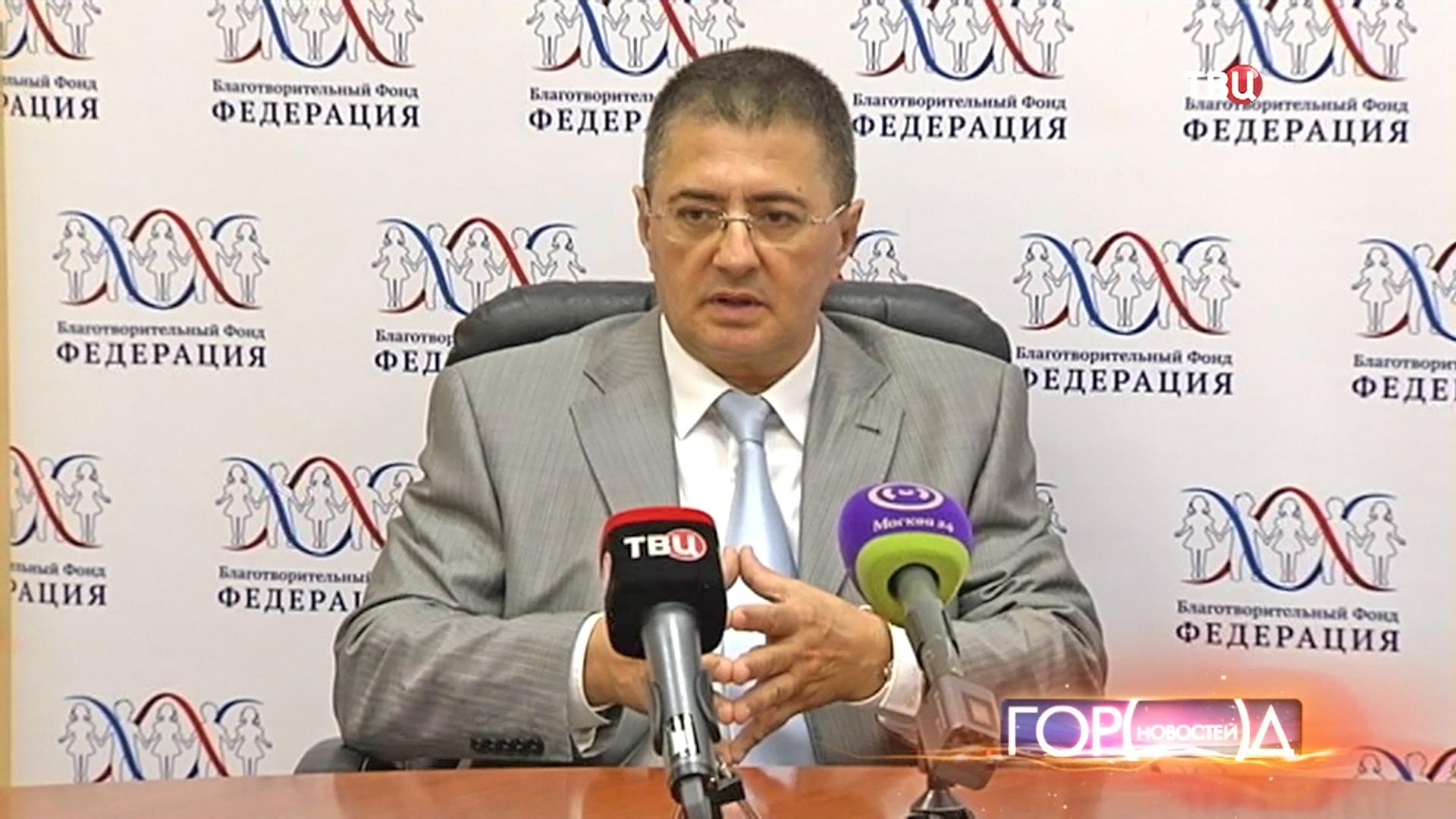 Главный врач ГКБ №71 Александр Мясников