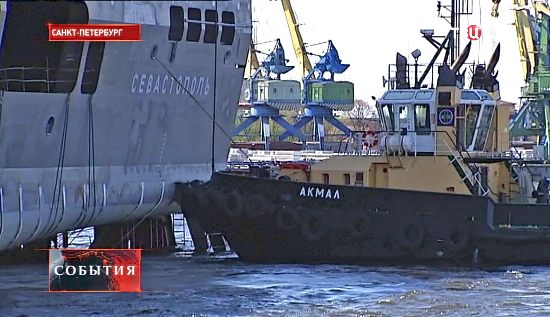 Буксировка судна