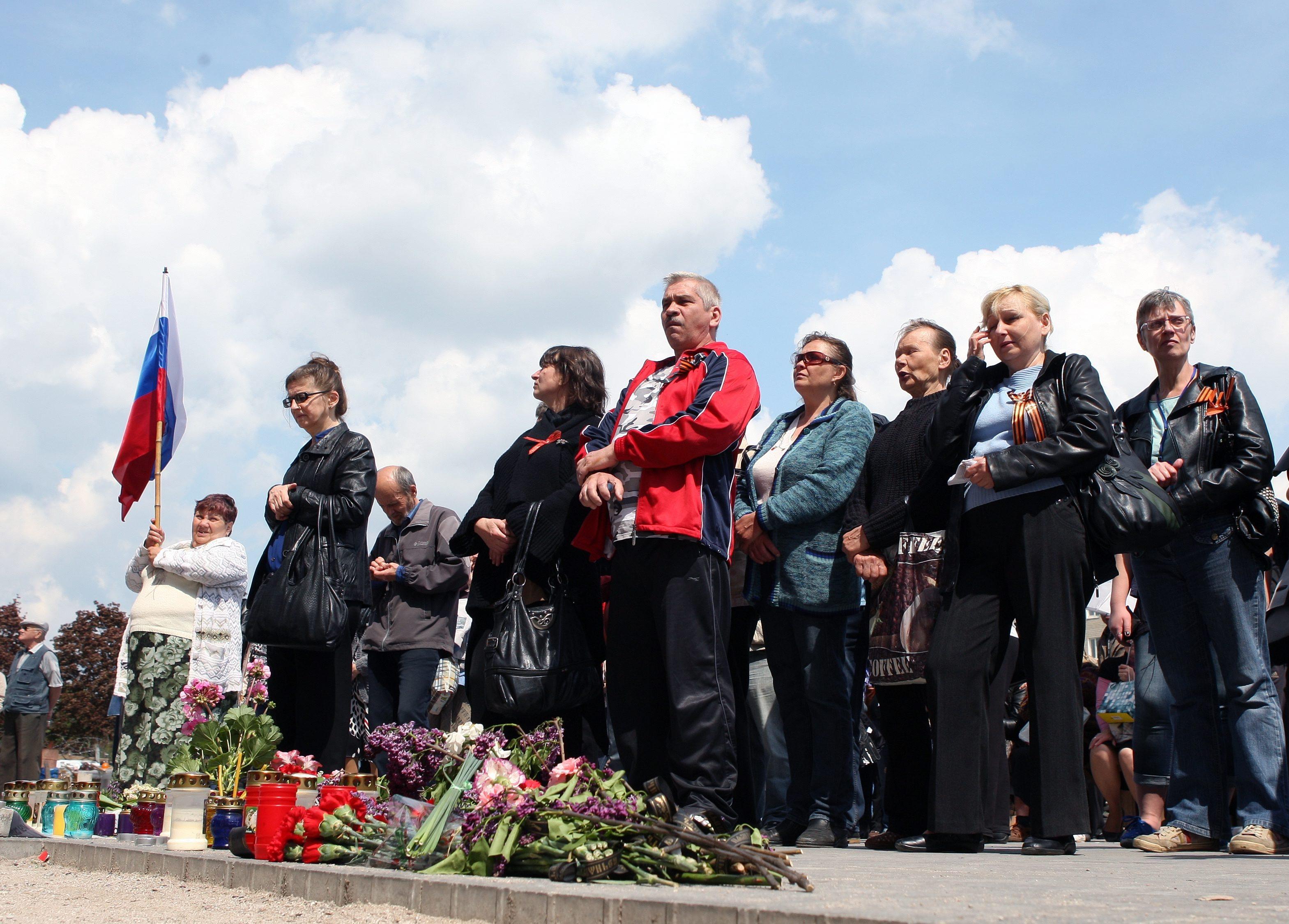 Траур по погибшим в Одессе