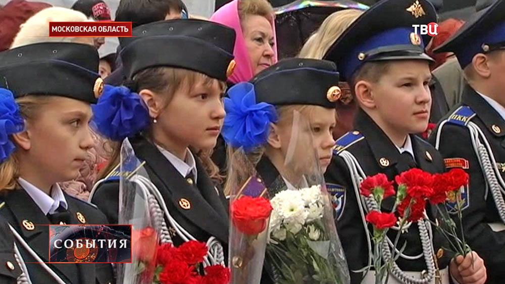 Кадеты почтили память воинов-сибиряков