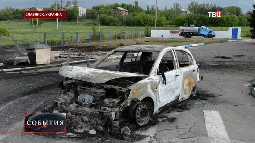 Последствия штурма Славянска