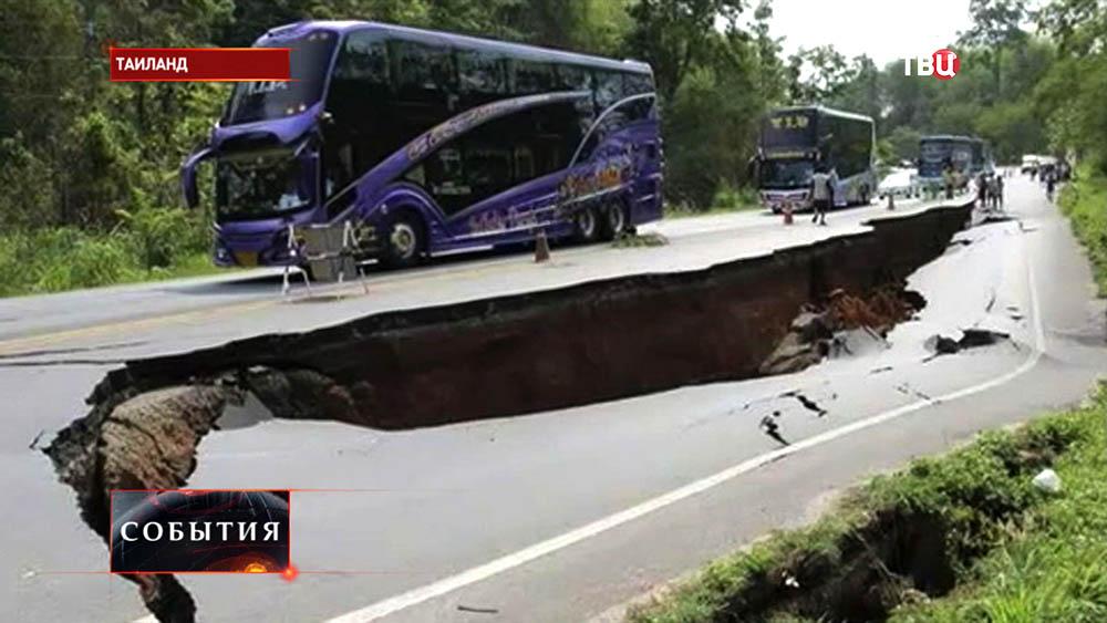 Последствия землятресения в Таиланде