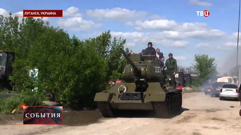 Танк Т-34 времен Отечественной войны