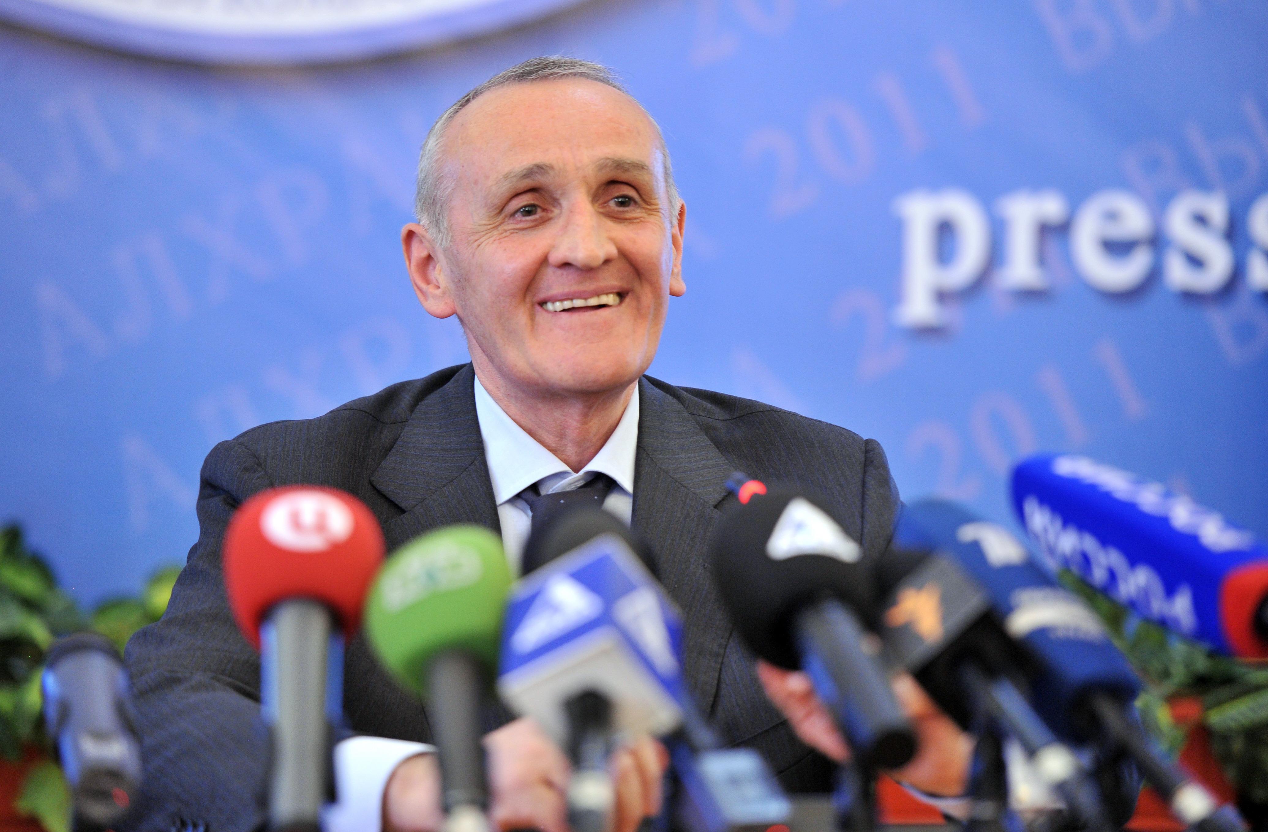 Президент Абхазии Александр Анкваб