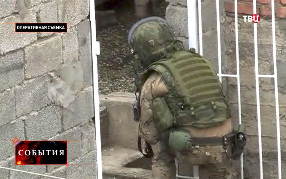 Спецоперация по нейтрализации боевиков