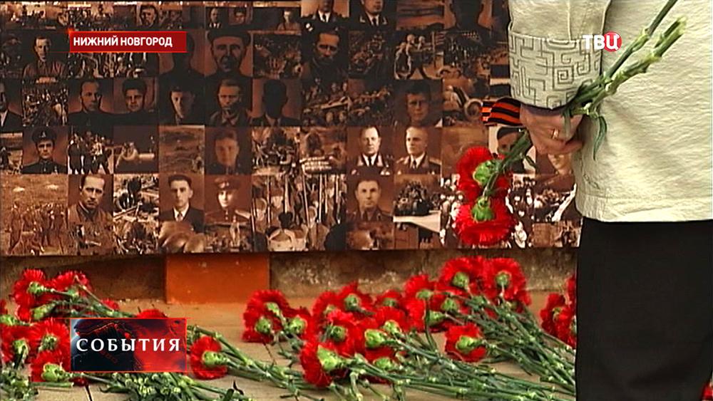 Воинский монумент в нижегородском Кремле
