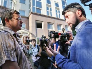 Встреча кандидата в мэры Москвы Илья Свиридова с жителями