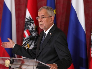 Австрийский президент Александер Ван дер Беллен