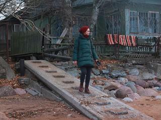 """Кадр из фильма """"Северное сияние. Следы смерти"""""""