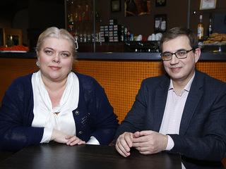 Адвокат Марина Кащенко и психолог Виктор Пономаренко