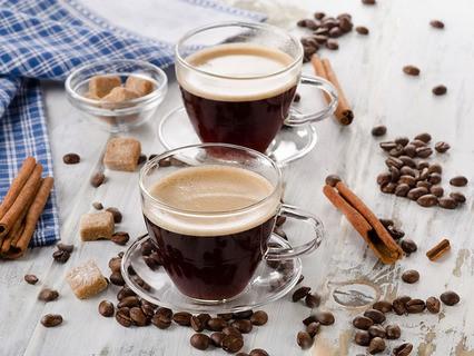 Позволь под кофе разговор...