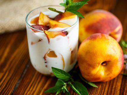 Йогурт с персиком… или без?
