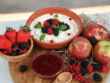 Творожный десерт для гурманов